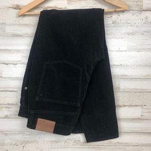 Madewell Black Velvet Pants